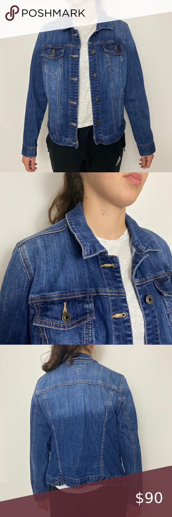 Women S Tommy Hilfiger Denim Jacket Size Large Hilfiger Denim Clothes Design Denim Jacket [ 1740 x 580 Pixel ]