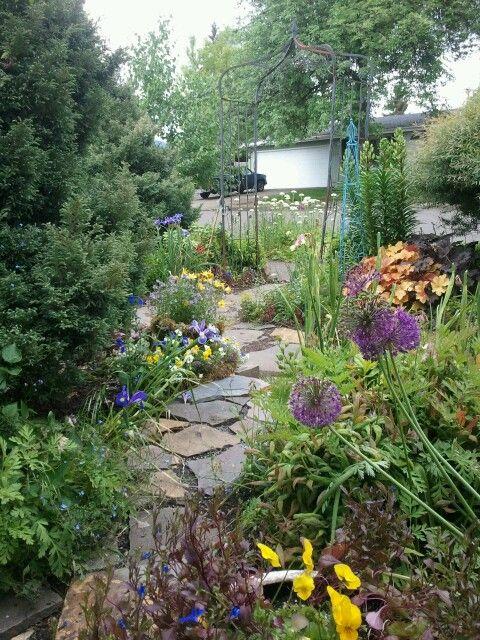No mow front yard! (Eden Design & Landscaping, garden of ... on No Mow Backyard Ideas id=78689
