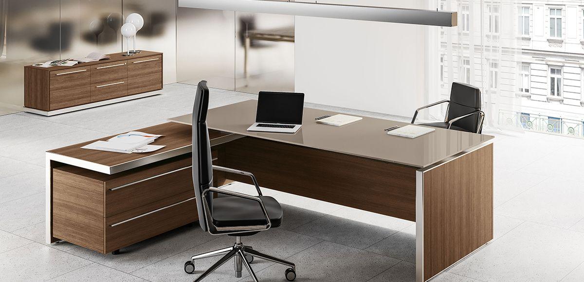 Eos L Shape Executive Desk By Las
