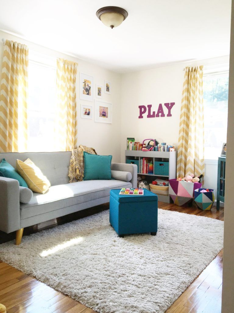 Children S And Kids Room Ideas Designs Inspiration: Modern, Colorful, And Functional Playroom In 2019