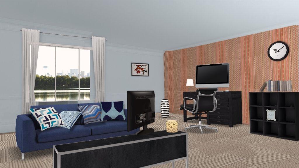 Loft living room via autodesk homestyler new interior for Autodesk home design
