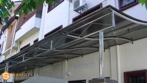 Baja Ringan Ngaliyan Project Canopy Minimalis Kerangka Dan Model