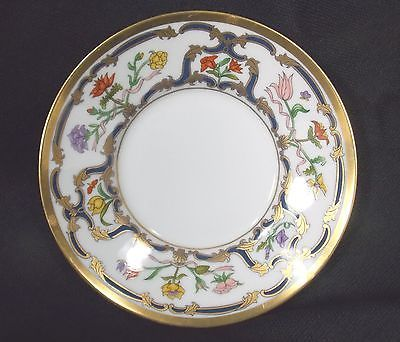 Christian Dior Renaissance Pattern Saucer Fine China Gold Floral Flowers