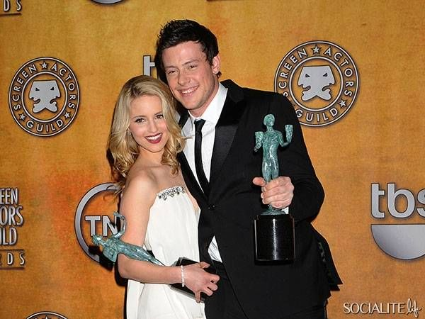 Dianna agron snubbed from cory monteith tribute? #BTT
