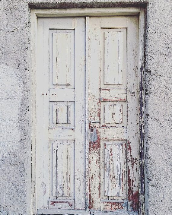 White Rustic Door Photography Wall Art Greek Santorini Door Wall Decor Greece Photography Rustic Industrial Etsy Wall Art Photography Wall Art Photography Wall