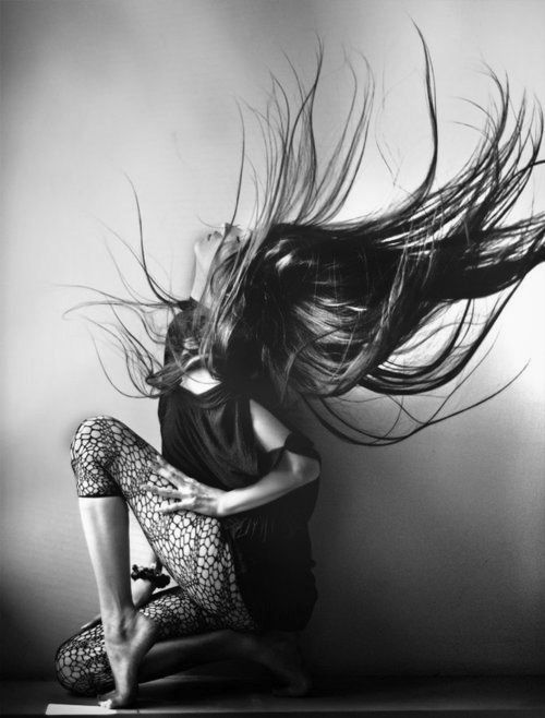 Against the Gravity Hair | black and white