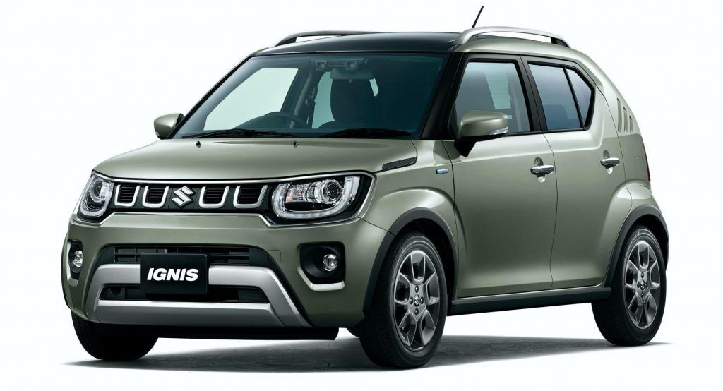 2020my Suzuki Ignis Gains New Grille Suv Inspired Range Topping