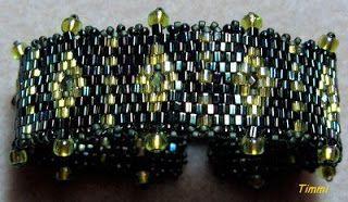perlenteddy: Armband und Triangel