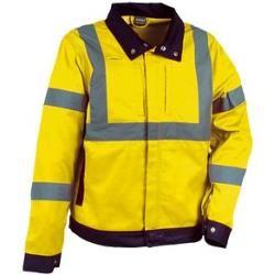 Cofra® Herren Warnjacke Tempel gelb Größe Xl Cofra #sweateroutfits