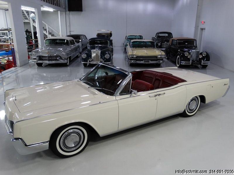 DANIEL SCHMITT U0026 CO CLASSIC CAR GALLERY PRESENTS: 1967 LINCOLN CONTINENTAL  4 DOOR CONVERTIBLE