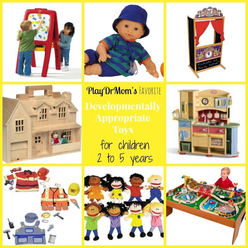 Developmentally Appropriate Toys for children 2 5 years
