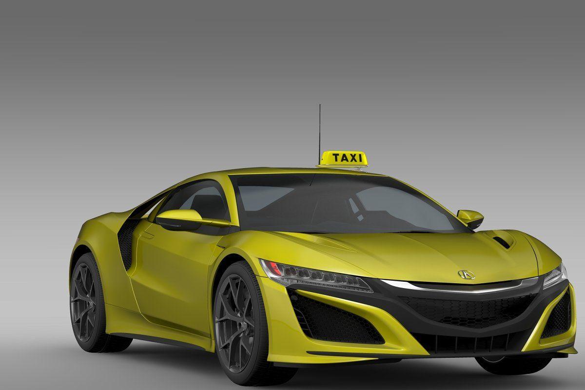 Acura Nsx Taxi 2016 In 2020 Acura Nsx Small Luxury Cars Nsx