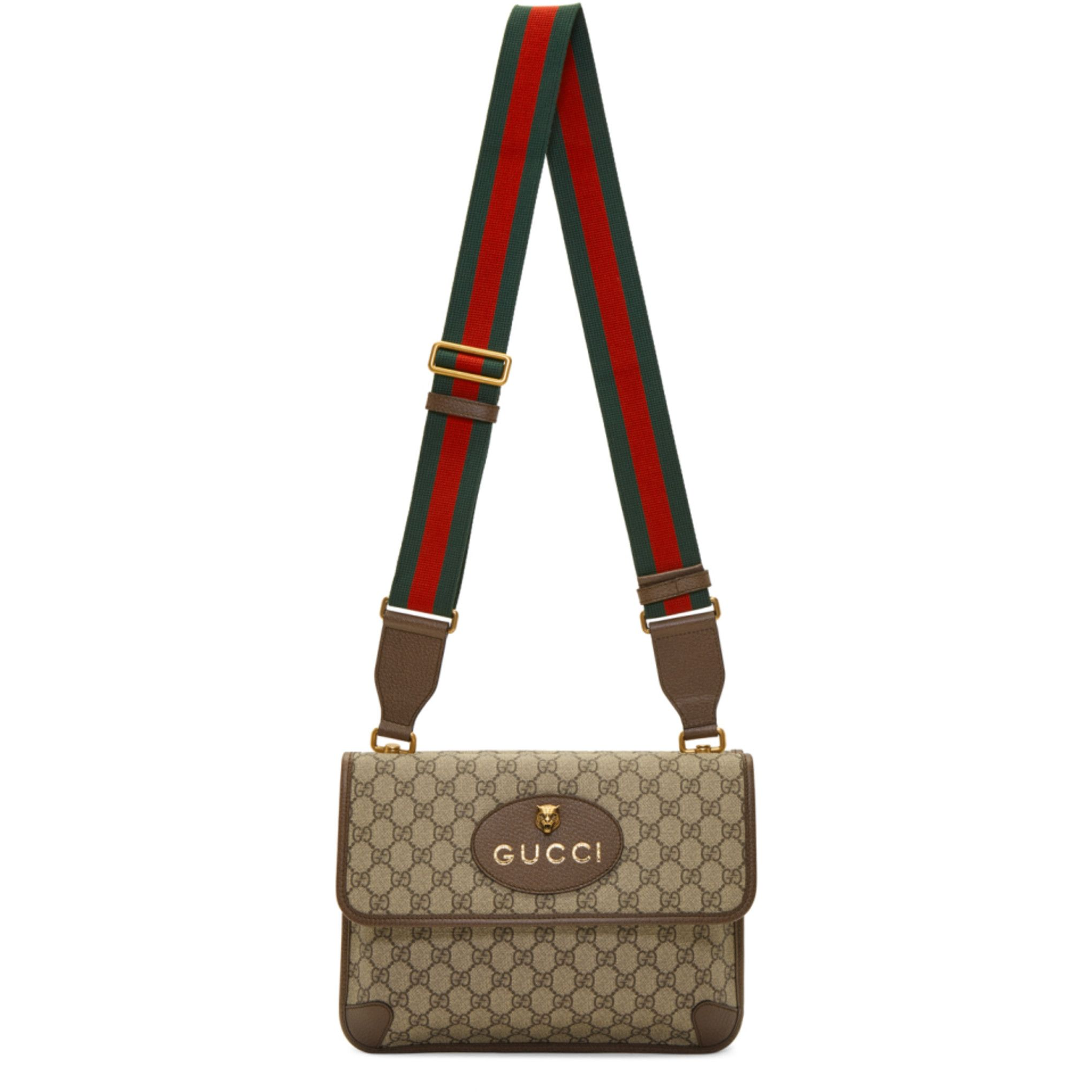6c74ceef2895 Gucci Beige Neo Vintage Foldover Bag i 2019 | Väskor | Foldover bag ...