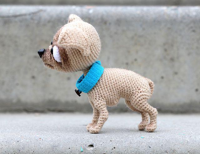 Chihuahua Pattern By Ermak Elena Pattern Library Crochet And Patterns