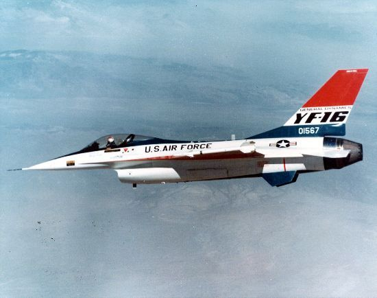 March 11, 1974: The YF-16 attained Mach 2 for the first time in test flights at Edwards AFB, Calif.