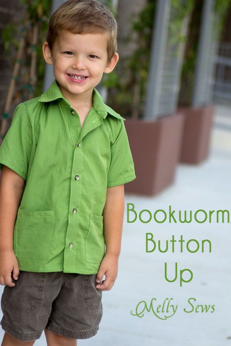 button up shirt patterns kids pdf