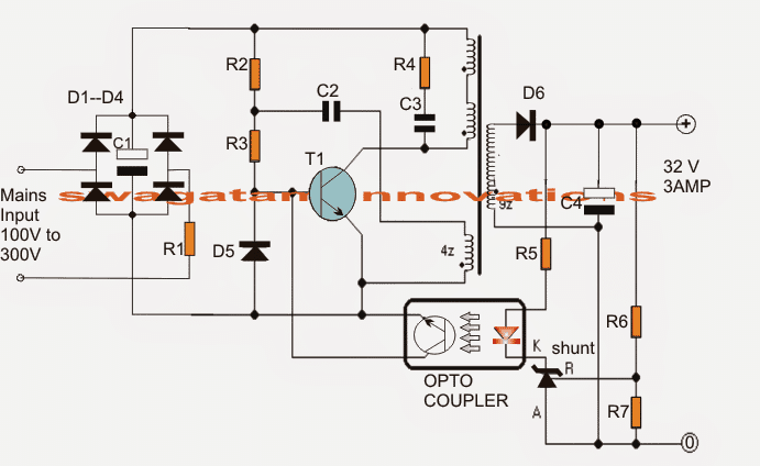 led intensity controller circuit homemade circuit designs just for