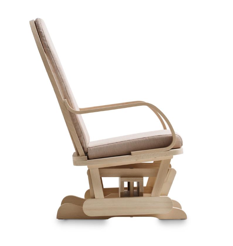 Sedia A Dondolo Inventore.Sedie Dondolo In Legno Di Faggio Progettate E Costruite Da Demar