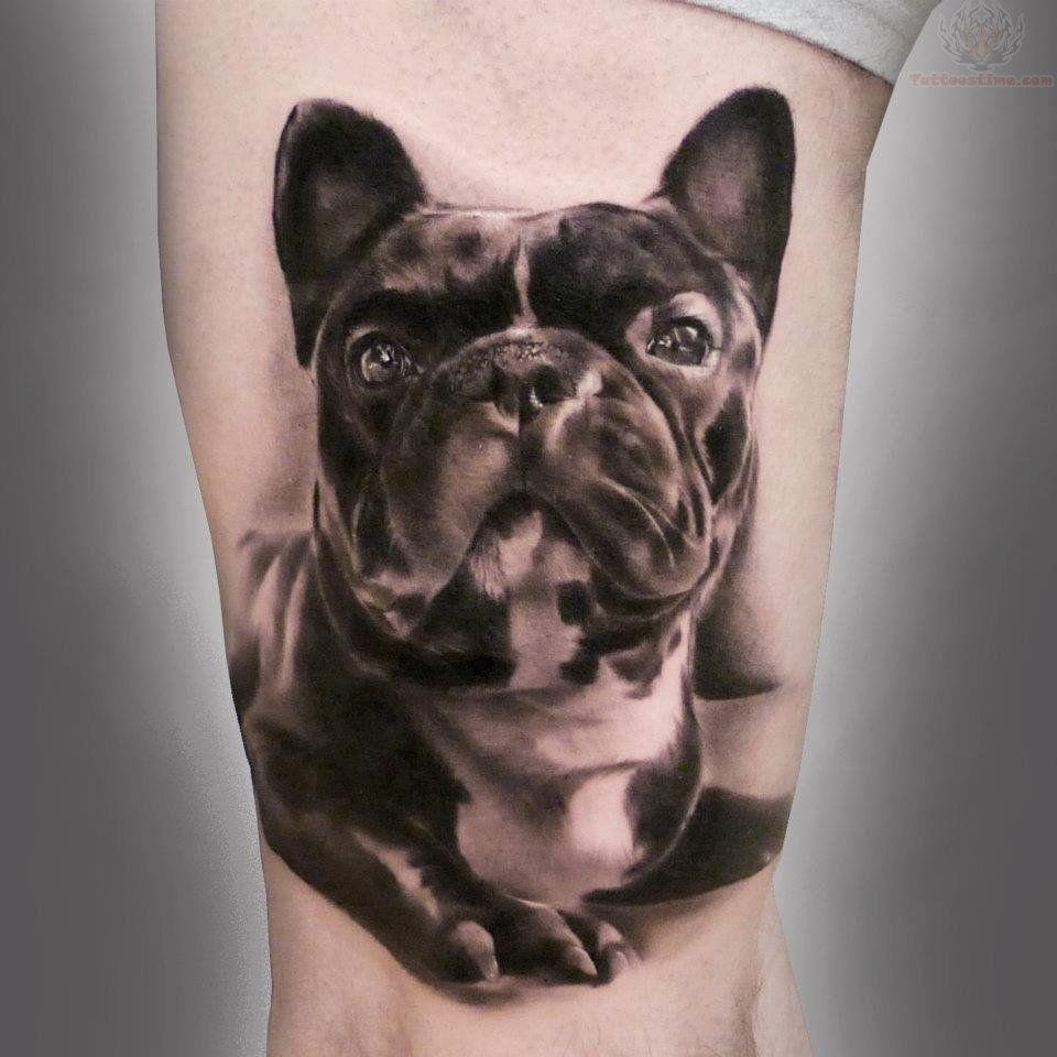 French Bull Dog Tattoo Looks Just Like My Buboy I Wish I Was