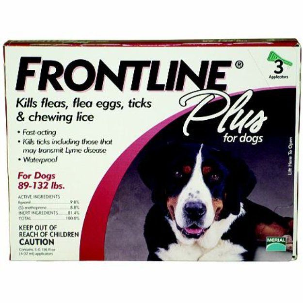 I'm learning all about Frontline Plus Dog 89132lbs at