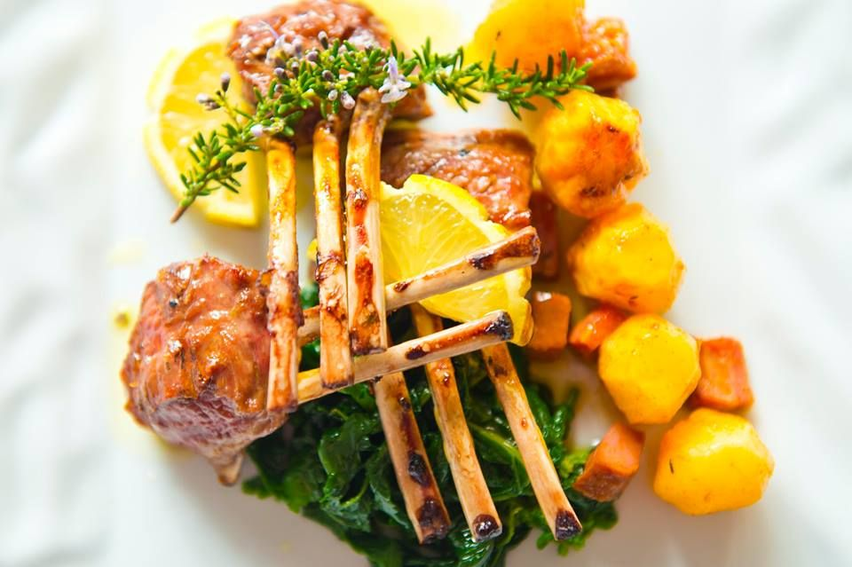 Nothing like #sustainably #raisedMeat  2 truly savour spring. Agree #foodie ? Lamb chop #yummy