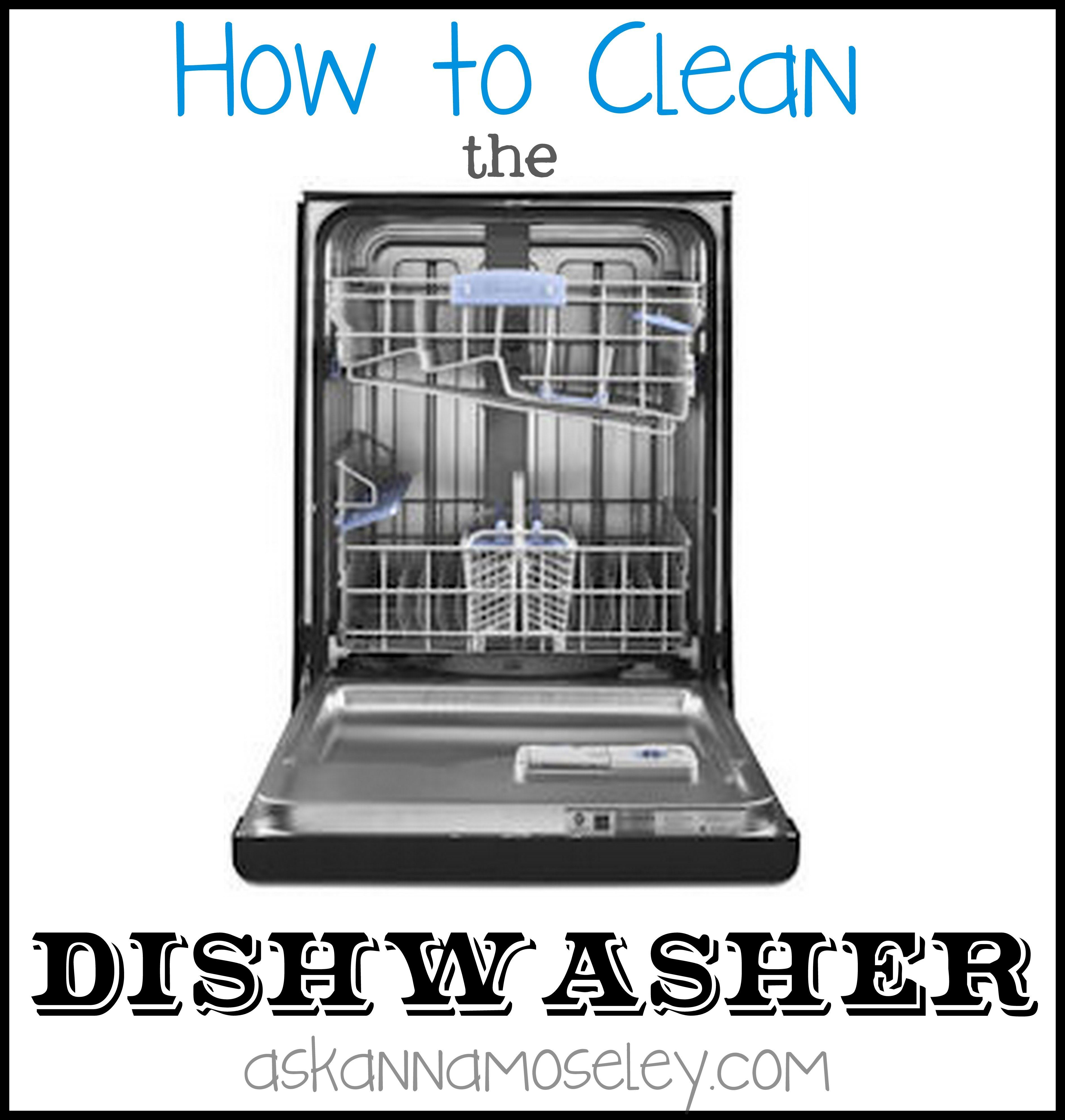 Cleaning A Dishwasher Can Be Very Simple This Easy And All Natural Trick Will Help You Get Rid Of The Grime Cleaning Your Dishwasher Clean Dishwasher Cleaning