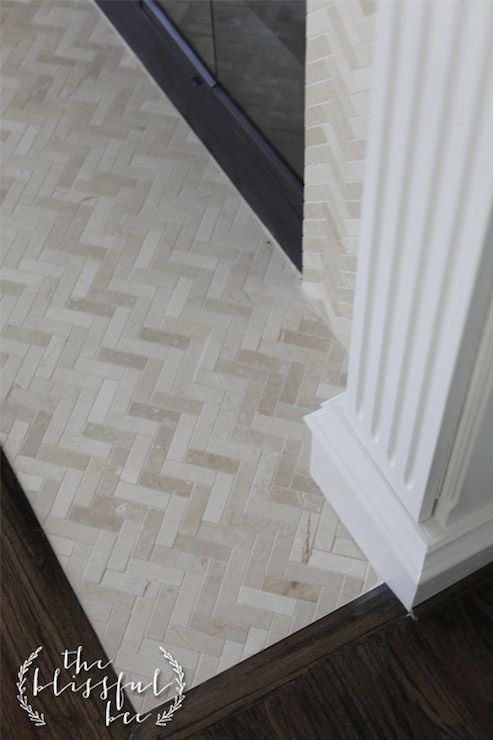 Tile With Soft Tones Pattern Interest In The Fire Place