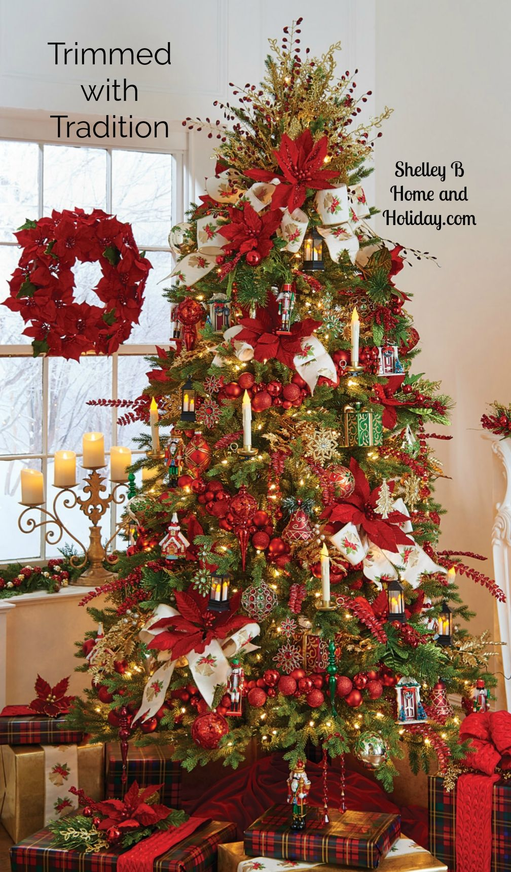 Shelley B Christmas Tree Kits Include A Collection Of Ornaments Glass Ornaments An Creative Christmas Trees Pre Decorated Christmas Tree Christmas Tree Design