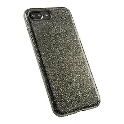 best service fd7d1 8d3dc Amazon.com: Speck Products Presidio Clear + Glitter Cell Phone Case ...