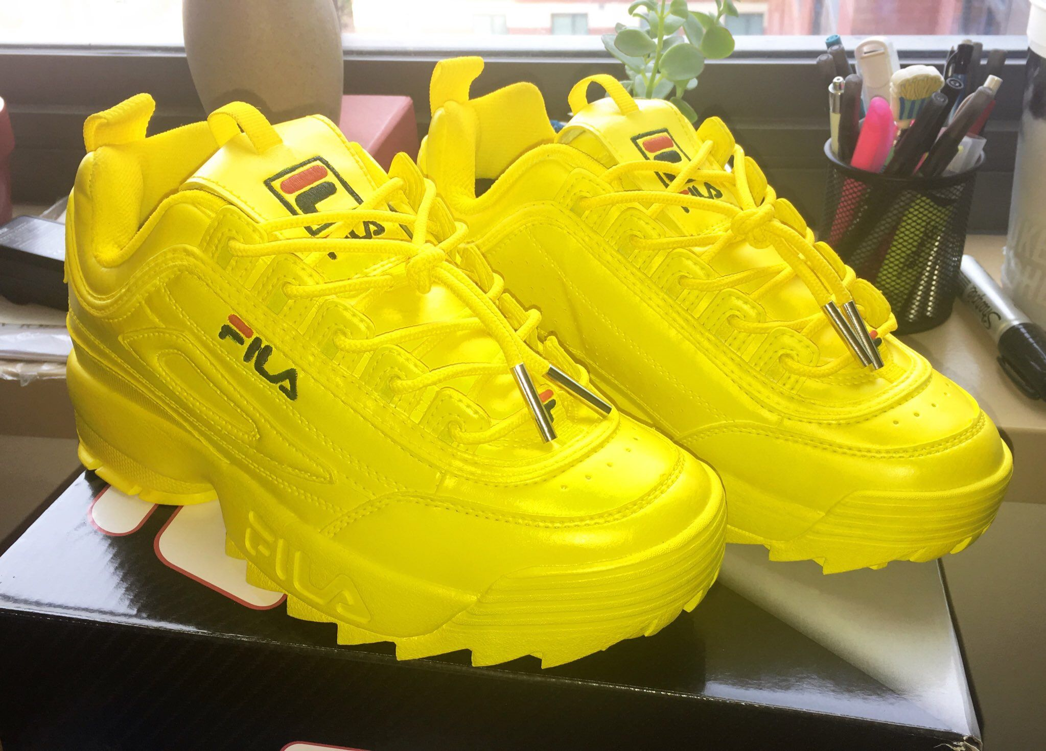 6ffd8db7 Custom Fila Disruptor ii | Customs | Shoes, Fila outfit ...