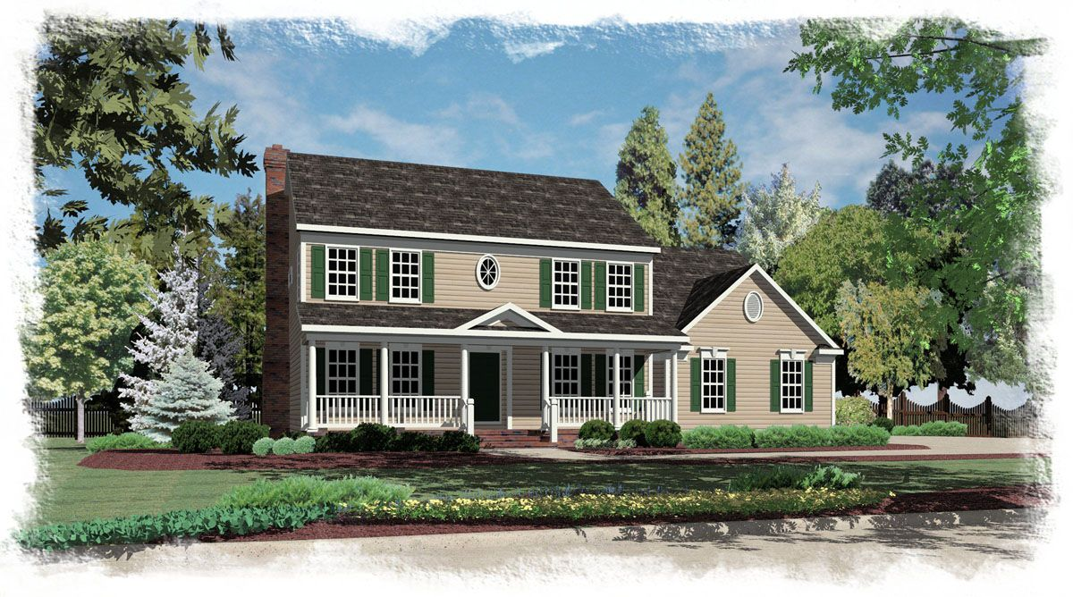 Colonial homes reverse gable garage garage pinterest for Colonial garage