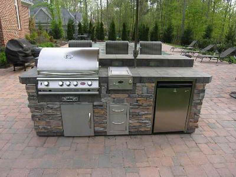 awesome Master Forge Modular Outdoor Kitchen #9: 1000+ ideas about Modular Outdoor Kitchens on Pinterest | Outdoor kitchens, Backyard kitchen and Outdoor grill area