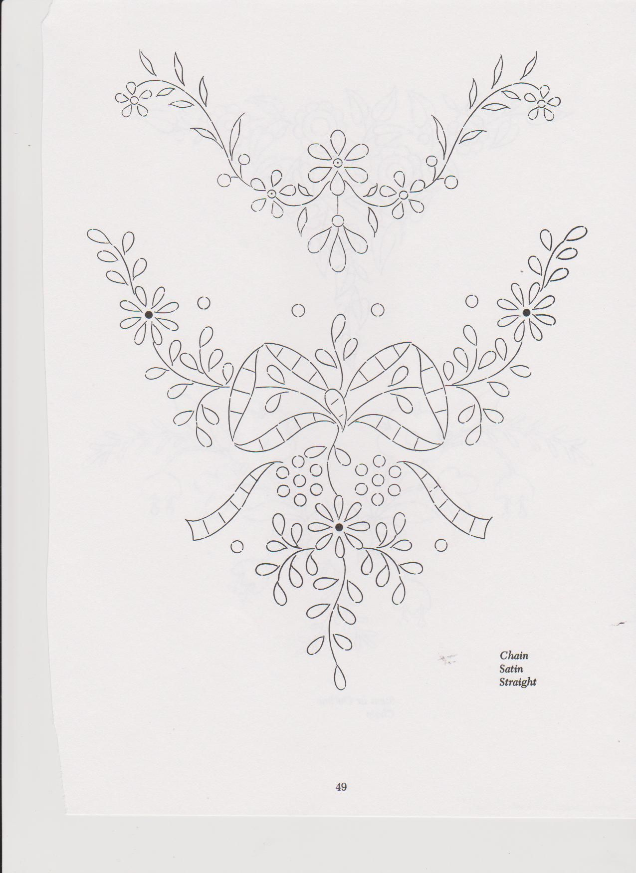 embroidery for chemise | RICHELIEU | Pinterest | Bordado, Dibujos ...