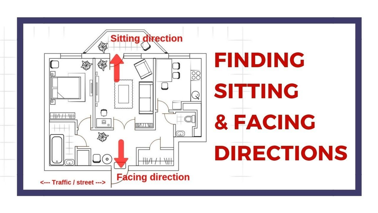 How To Find The Facing And Sitting Direction Of The House And Overlay On Overlays Feng Shui Design Compass App