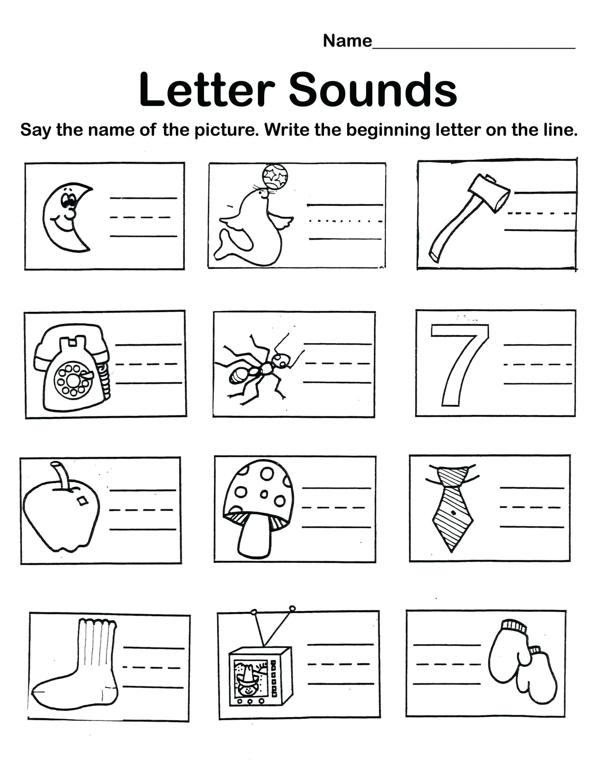 Preschool Worksheet Packet