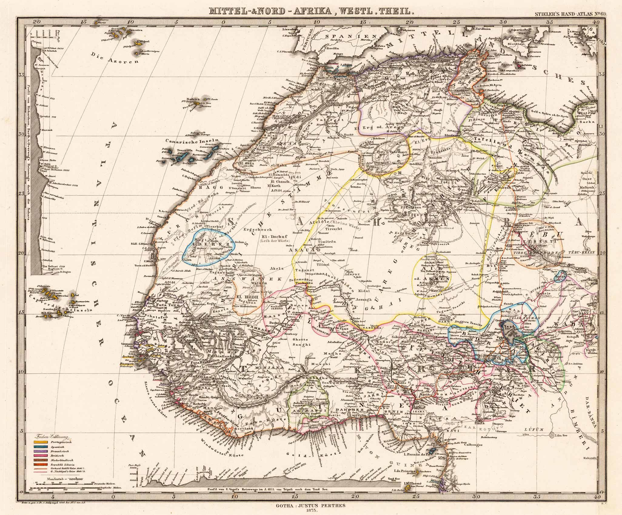 Map of West Africa maps Old Maps of Africa Pinterest Africa
