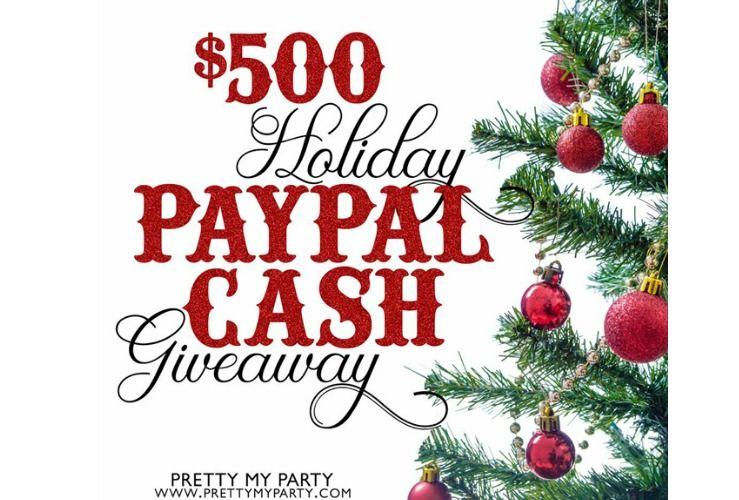 500 Holiday Cash Giveaway Holiday Giveaway Giveaway Contest
