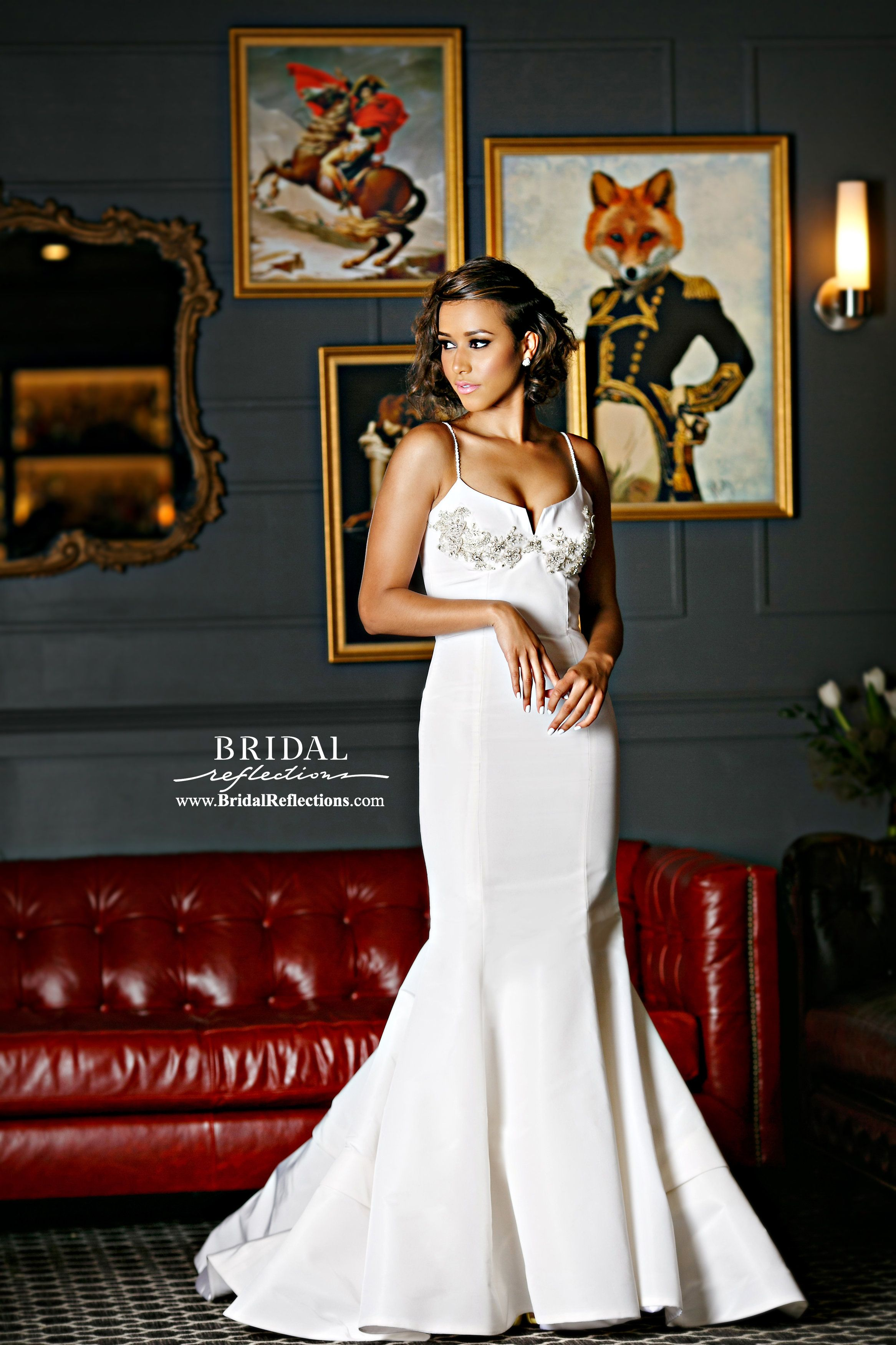 Dreaming about wearing a wedding dress  Haute couture custommade bridal u formal wear Your dreams our