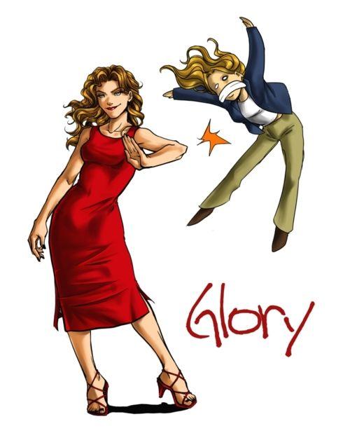 Glory & Buffy <3