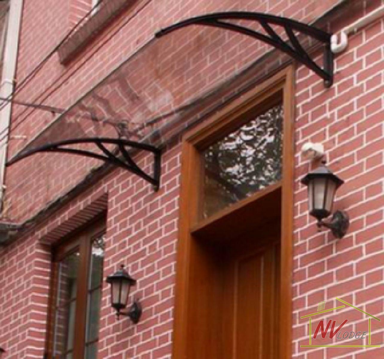 Stationary Awning | Door canopy, Canopy, Doors