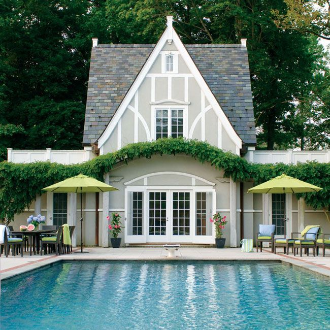 Wonderful Pool Finish Ideas For You To Copy: Image Result For Tudor House Painted In Grey Tones