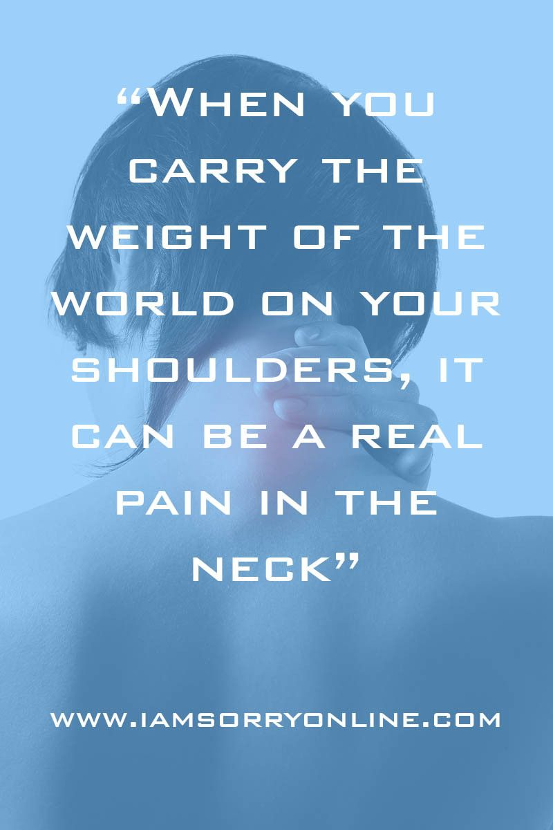 Carrying The Weight Of The World Read More Here Www