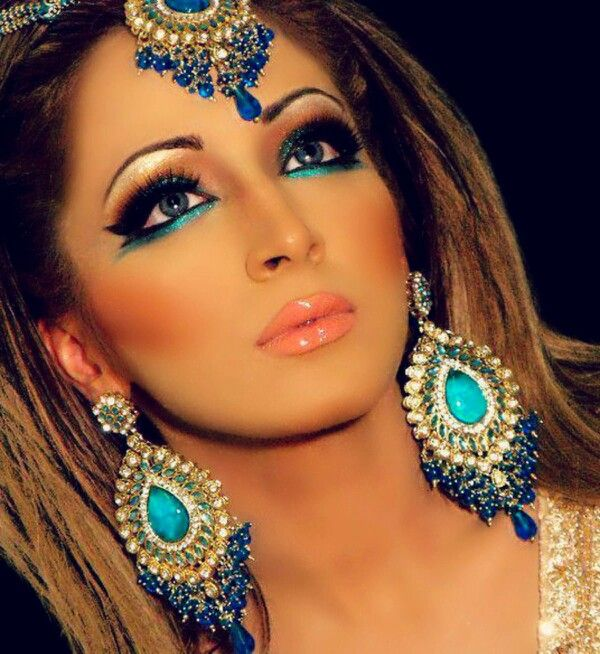 Indian Bridal Eye Makeup: Native American Makeup Inspiration. Pshh I'm That All Year