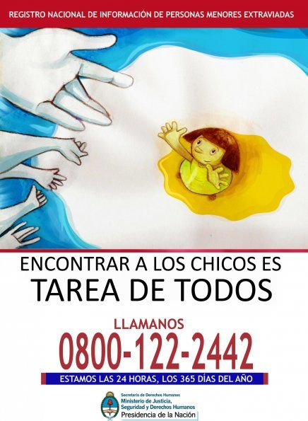 Niños extraviados Argentina.
