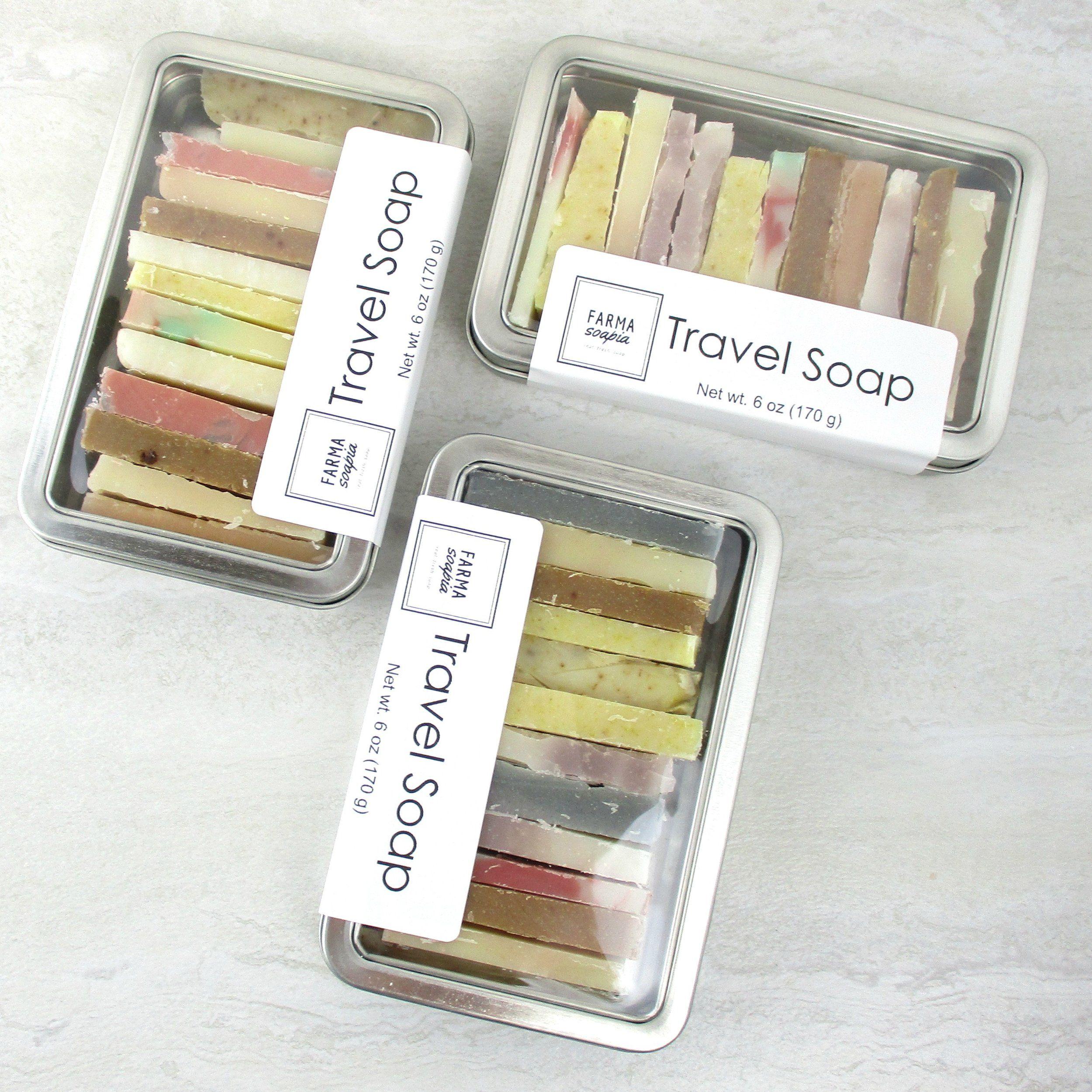 Travel Soap #soappackaging