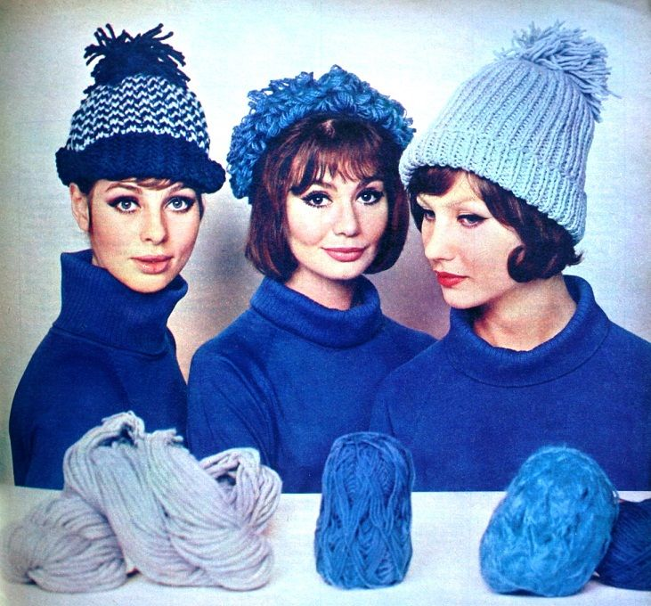 Romance (Dutch) January 1964  Knitting Fashion