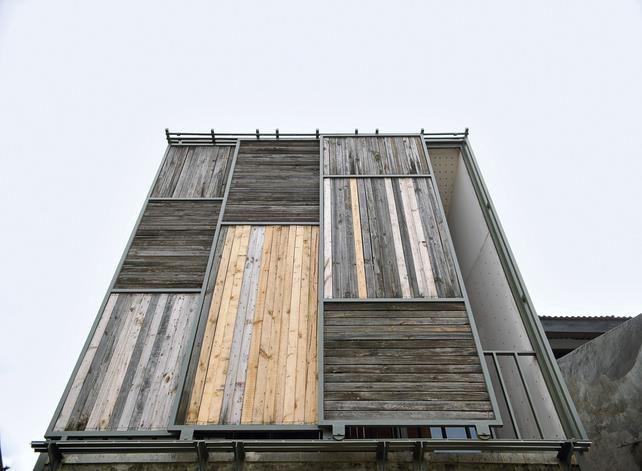 Bekasi Jawa Barat Wood Architecture Wood Facade