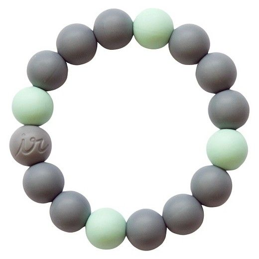 Teething Happens™ Chewable Mom Jewelry is fun and fashion for mom and safe for baby! 100% food grade silicone (similar to pacifiers and bottle nipples), non-toxic and CPSIA compliant. Free of BPA, PVC, phthalates, lead and cadmium. Hand wash or top-shelf dishwasher safe.