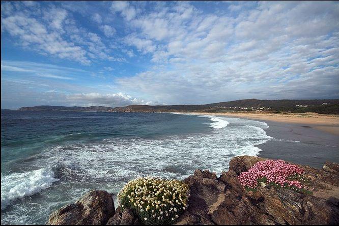 Playa de Rostro-Fisterra.Galiza