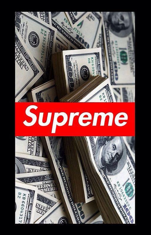 Money Supreme By Claudia Perez Supreme Wallpaper Supreme Wallpaper